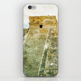 Chichen Itza pyramid iPhone Skin
