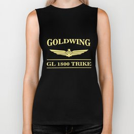 GOLDWING TRIKE BAR LOGO TEE  biker Biker Tank
