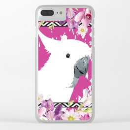 Sulphur-crested Cockatoo Clear iPhone Case