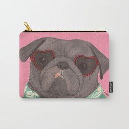 Hawaiian Pug Carry-All Pouch