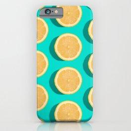 Lemon Slices Neck Gator Lemonade Lemons iPhone Case