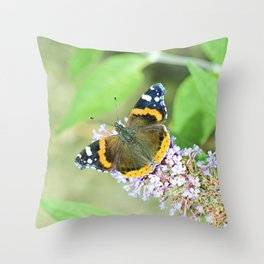 Butterfly VIII Throw Pillow