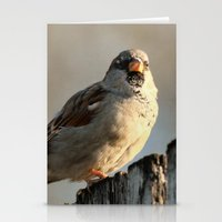 lonely Stationery Cards featuring Independent! by IowaShots