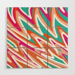 Color Vibes Wood Wall Art