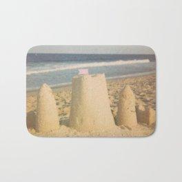 Sand Castle Summer Bath Mat