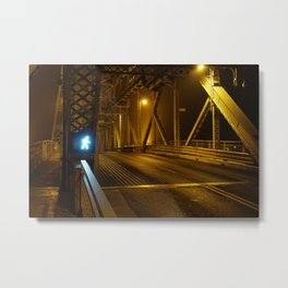 Foggy Feeling Metal Print