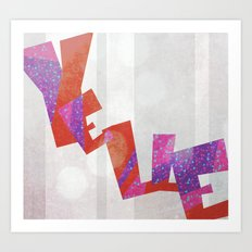 Yelle Art Print