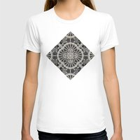 lace T-shirts featuring Old Lace by Lyle Hatch