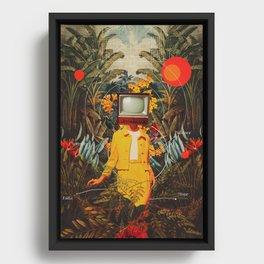 She Came from the Wilderness Framed Canvas