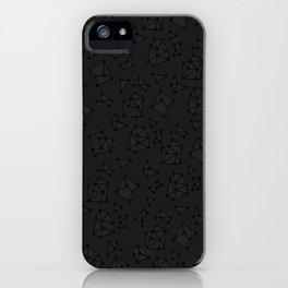Lucifer's Black Diamonds  iPhone Case