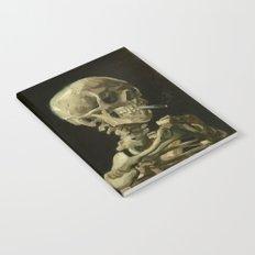 Vincent van Gogh - Skull of a Skeleton with Burning Cigarette Notebook