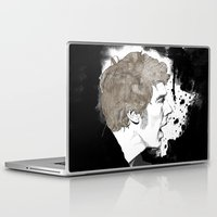 cumberbatch Laptop & iPad Skins featuring Benedict Cumberbatch by Hologarithm