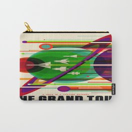 Vintage poster - The Grand Tour Carry-All Pouch