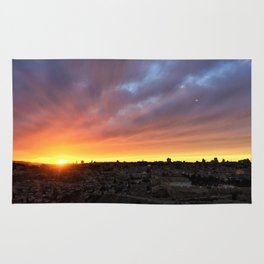 Jerusalem Sunset Rug