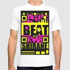 Beat Wins K U R - Shirane White MEDIUM Mens Fitted Tee