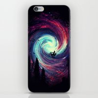 stars iPhone & iPod Skins featuring Adventure Awaits by nicebleed