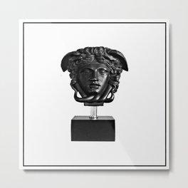 medusa b&w collection Metal Print