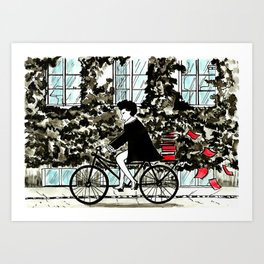 In Amsterdam Art Print