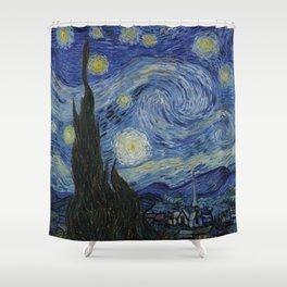 The Starry Night Duschvorhang