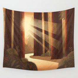 Redwoods Wall Tapestry