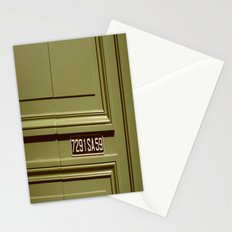 Green doorway  Stationery Cards