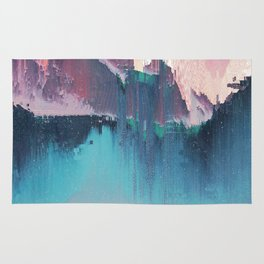 Glitched Landscapes Collection #3 Rug