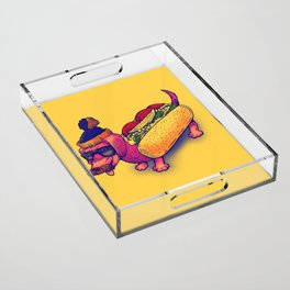 Chicago Dog Acrylic Tray