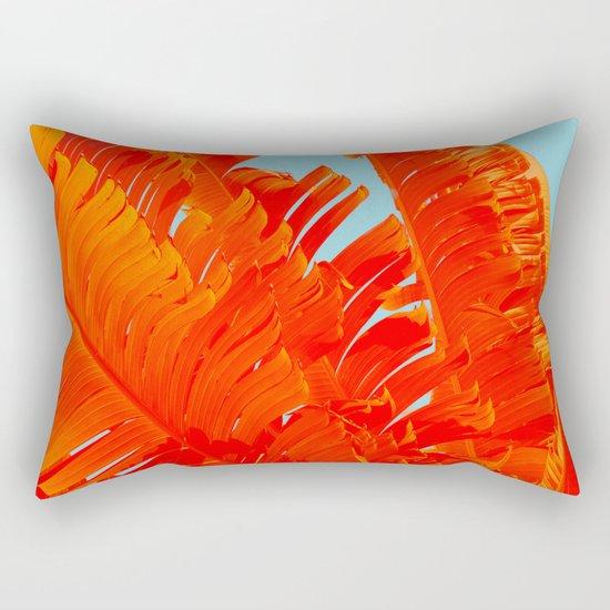 Flame On Island Paradise Rectangular Pillow
