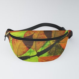 Autumn in Red & Green Fanny Pack