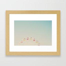 its all a blur ... Framed Art Print