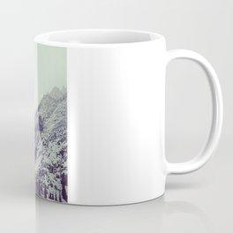 Mountains With Pink Coffee Mug