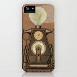 Magician and Machine iPhone Case