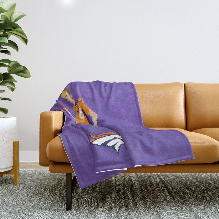 Manning The Great Throw Blanket