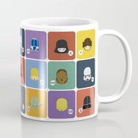 starwars Mugs featuring StarWars quotes by Thiago Grossmann