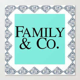 FAMILY & CO Canvas Print