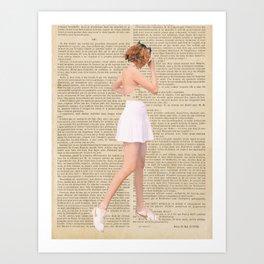Mon Amour Art Print