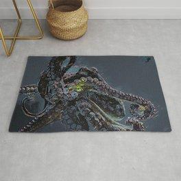 """""""Release the Kraken"""" - Giant Octopus Digital Illustration Rug"""