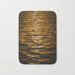 Sunset Ripples (Lake Balaton) Bath Mat