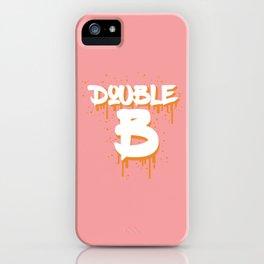 DOUBLE B iPhone Case