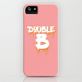 DOUBLE B iPhone Case