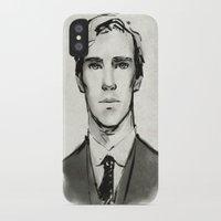 benedict cumberbatch iPhone & iPod Cases featuring benedict cumberbatch  by Angela Taratuta