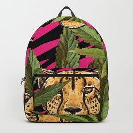 Cheetahs & Weed  Backpack