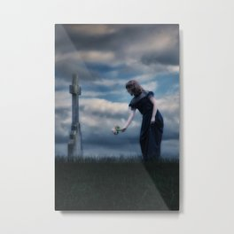 mourning Metal Print