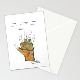 Golf Glove Patent 1955 Stationery Cards