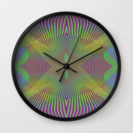 Play with stripes  7 Wall Clock
