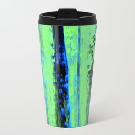 Urban Rain IV Painterly Abstract Travel Mug