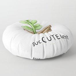 SucCUTElent Floor Pillow