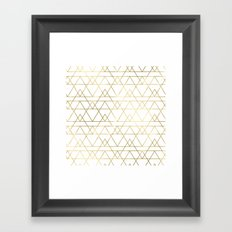 Modern Gold Framed Art Print