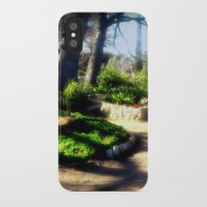 A walk in the Park iPhone X Slim Case