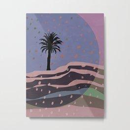 Autumnal Air around the Palm Tree Metal Print